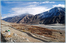 Nubra and Shyok valleys